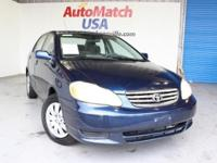 2003 Toyota Corolla Sedan LE Our Location is: AutoMatch