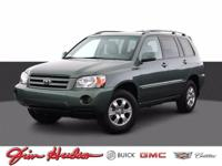 Check out this gently-used 2003 Toyota Highlander we