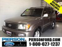 SURPRISINGLY CLEAN LUXURY SUV! LEATHER, MOONROOF, DVD &