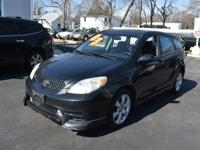 This 2003 Toyota Matrix is a dream to drive. This