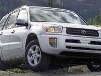 This 2003 Toyota RAV4 4dr 4WD (Natl) has an exterior