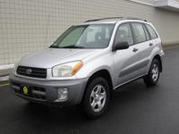 You are looking at a Silver, 2003 Toyota Rav 4. This is