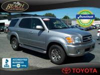 MINT CONDITION 2003 TOYOTA SEQUOIA 4X4 LIMITED FULLY