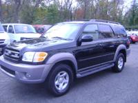 Options Included: $ 7999 4X4 SEQUOIA SR5, ALL POWER,