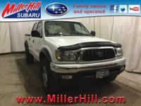 2003 Toyota Tacoma Double Cab V6 4WD ready and waiting!