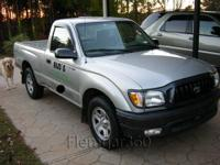 2003 TOYOTA TACOMA PICKUP TRUCK 4 CYL, Manual
