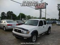This '03 Tacoma is the Prerunner Double Cab model, is