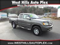TUNDRA SR5 ACCESS CAB 4X4  Options:  Abs Brakes