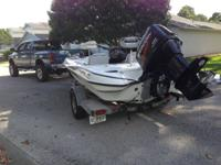 2003 TRITON TX 186 FLATS/BASS with Merc 150 A great