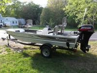 16.5 TRITON BASS BOAT LOW HOURS OF FRESH WATER USE - I