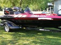 2003 Triton TR-186 Bass Boat is in exceptional