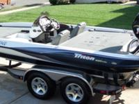 Priced to sell.  For sale is a 2003 Triton TR-21 bass