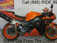 2003 used Yamaha R1 sport bike for sale with chrome