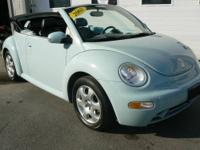 1-OWNER PERFECT CONDITION 2003 VOLKSWAGEN BEETLE GLS