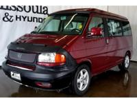 This mini van has a V6, 2.8L high output engine. The