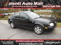 Options Included: N/Ax This clean 2003 VW Jetta offers