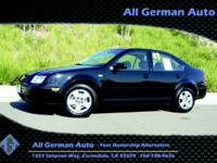 Options Included: N/A2003 VOLKSWAGEN JETTA GLS-