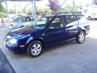 Options Included: N/A2003 VW Jetta Wagon TDI GLS, Auto,