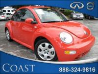 Options Included: N/A2003 VW New Beetle Coupe 2dr GLS