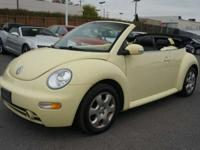 2003 Volkswagen New Beetle GLS For Sale.Features:Front