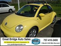 2003 Volkswagen Beetle CARS HAVE A 150 POINT INSP, OIL