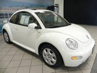This cute as a bug New Beetle has super LOW MILES and