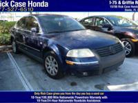 Options:  2003 Volkswagen Passat Gls|/|V4 1.8L