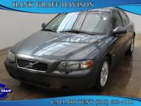 Outstanding design defines the 2003 Volvo S60! It just