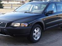 2003 Volvo XC 70 Cross Country wagon . Black Exterior