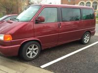 2003 VW Volkswagen Eurovan GLS minivan Colorado Red