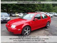 The Volkswagen Jetta GLI VR6 has a powerful engine and