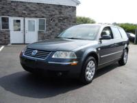 This Passat GLS 1.8T Wagon is German engineering and