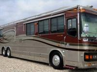 2003 Wanderlodge Luxury LXi RV. Brand Blue Bird Model