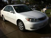 Hello I have a 2003 WHITE Camry XLE  *EXCELLENT