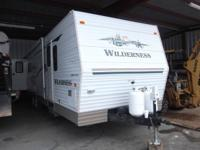 REAL NICE LIGHTLY USED WILDERNESS 33' RV WITH TWO
