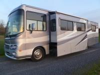 This is a very nice 03 Class A Motor Home. This 35'Wind
