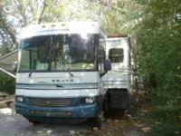 This Fully loaded Class A 36 Foot Deluxe Motorhome is