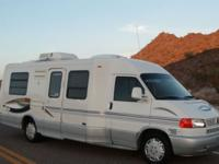 This RV is ready to use and enjoy and drive anywhere.