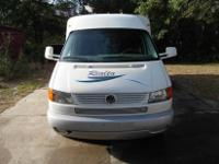 This is a 2003 Winnebago VW Rialta 22QD class B mobile