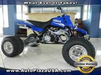 Be sure to take a look at this 2003 Yamaha Four Wheel