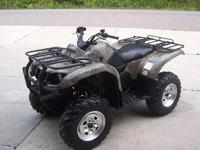 2003 Yamaha Grizzly 660 4X4, 2527mi/379hrs-----Runs and
