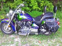 Make: Yamaha Model:  year: 2003 ExteriorColor: Green