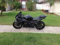 Motorcycle I am selling my 2003 Yamaha YZF R6. The bike