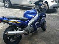 2003 Yamaha R600 My wife is making me sell, my lost