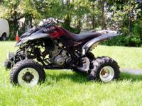 2003 Yamaha Raptor 660R Limited Edition Low hrs., low
