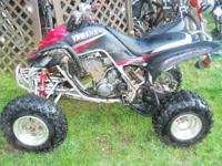 2003 YAMAHA Raptor 660R Quad Electric Start 4 speed