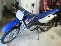 2003 Yamaha TTR 125L Dirt Bike, it's in great