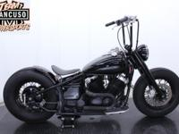 2003 Yamaha V Star Custom Bobber Lean and mean and