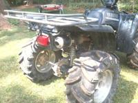 I am selling my 2003 yamaha wolverine 4x4. it has 12