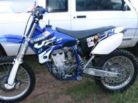 Up for sale I have my Yamaha YZ 450 F dirtbike. I am